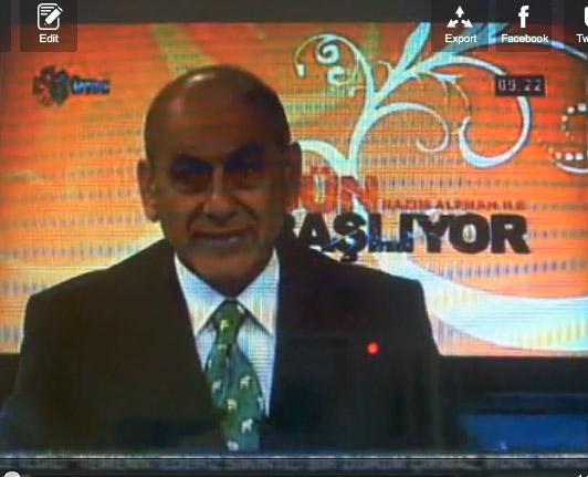 İMÇ TV'de Nazım Alpman'la söyleşi